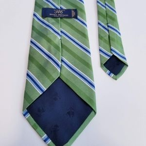 Brook Brothers 100% Pure Silk Striped Neck Tie
